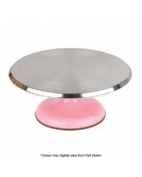Pink Base Metal Turntable