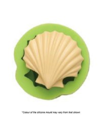 Large scallop seashell silicone mould