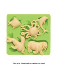 Sea life animals silicone mould