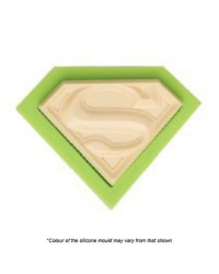 Superman logo silicone mould