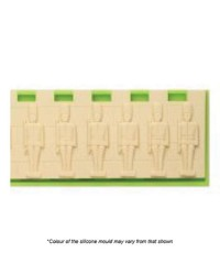 Toy solider Nutcracker wall silicone mould