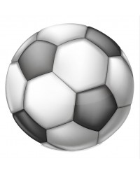 Edible icing image Soccer ball
