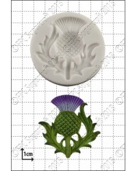 Scottish Thistle silicone mould