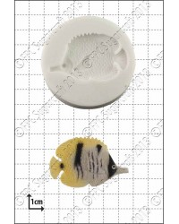 Fish silicone mould (tropical fish)
