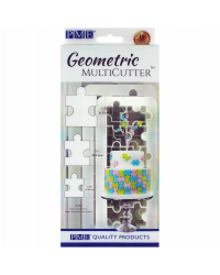 PME Geometric Multi Cutter Jigsaw Puzzle Pieces