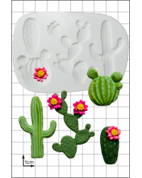 Cactus Topiary silicone mould