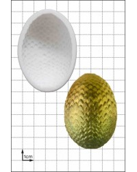 Dragon Egg large silicone mould