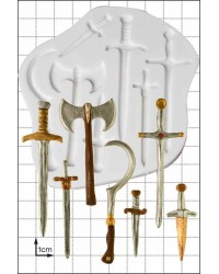 Swords and Weapons silicone mould