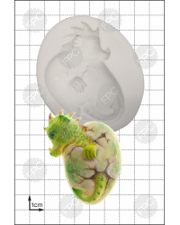 Hatching Dragon silicone mould