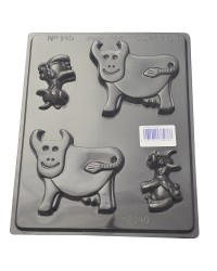 Cows Chocolate mould