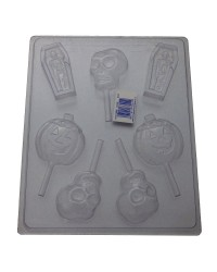 Halloween assortment lollipop No 2 chocolate mould