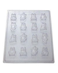 Frogs small chocolate mould