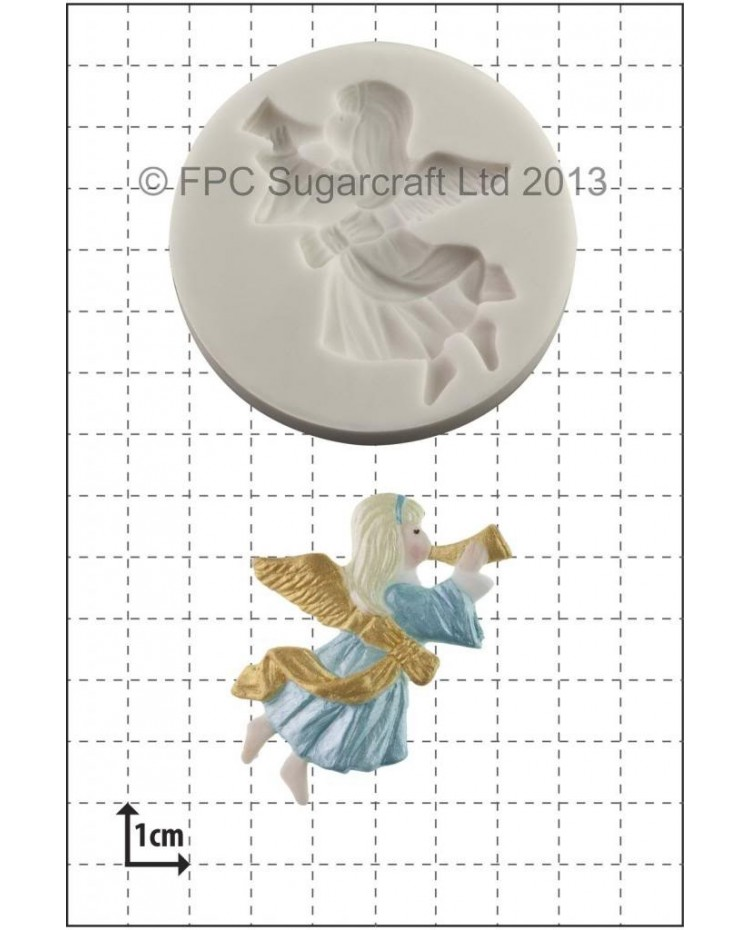 image: Christmas Angel silicone mould