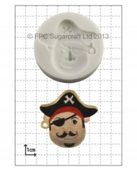 image: Pirate face #1 silicone mould
