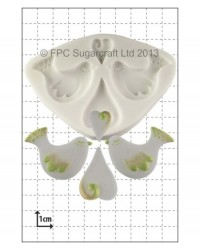 image: Love Birds & Hearts silicone mould