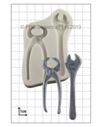 image: Wrench & Pincers (tools) silicone mould