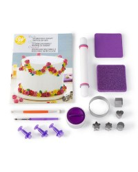 How to Decorate with Fondant Shapes and Cut Outs Kit 14 Piece Cake Decorating Kit