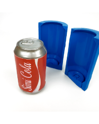 Full Size Soda or beer can silicone mould by Simi Cakes