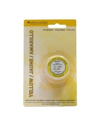 Chocolate candy colouring powder Yellow by Lorann
