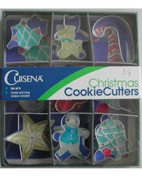 image: Mini Christmas cookie cutters set 9
