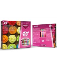 Progel 6 colour kit concentrated gel paste food colouring