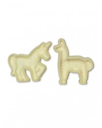 Exotic Animals Unicorn and Llama POP it Cutter Mould set