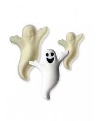 Ghost Halloween POP it Cutter Mould set