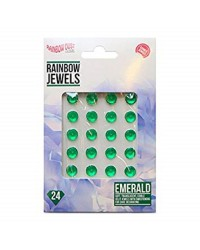 Emerald edible jewels gems by Rainbow Dust