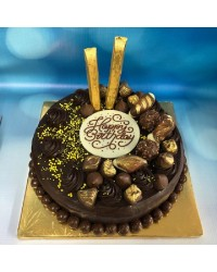 Chocolate overload cake in store pick up only