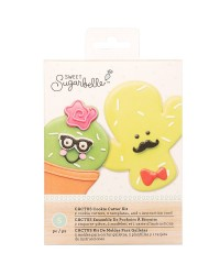 Sweet Sugarbelle Cactus cookie cutter set 2 cutters
