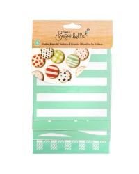 Sweet Sugarbelle Stencils 5x5 inch pack of 8 patterns