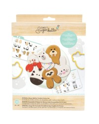 Sweet Sugarbelle Shape shifter cookie cutter set Animals