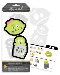 Sweet Sugarbelle Zombie cookie cutter set 2