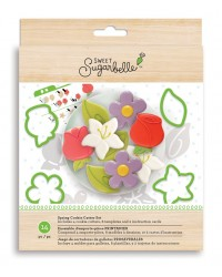 Sweet Sugarbelle Spring cookie cutter set flowers