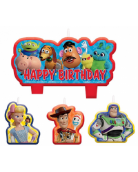 Toy Story 4 Candle Set 4 Style No 1