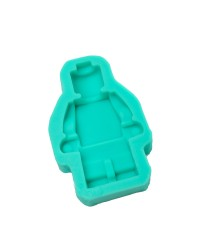 Large building block minifigure man mould