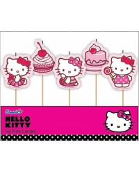 Hello Kitty 5 pick candle set