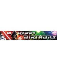 Star Wars Happy Birthday Party Banner