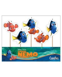 Finding Nemo and Dory 5 pick candle set