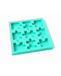 Jigsaw Puzzle pieces silicone mould