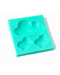 Cute Clouds silicone mould