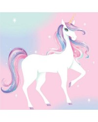 Unicorn party napkins (20)