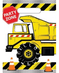 Construction vehicle Party loot bags (8)