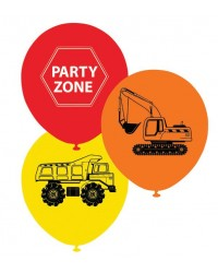 Construction Vehicles party balloons (10)