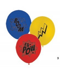 Comic Book super heroes party balloons (10)