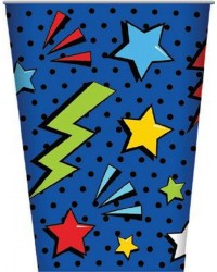 Comic Book Super Heroes party cups (8)