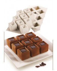 3d silicone dessert mould or cake baking pan Mosaico