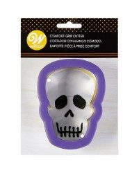 Comfort grip Skull cookie cutter