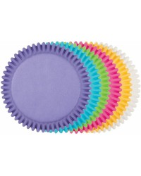 Multi colour standard cupcake papers 150 pack