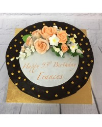 Custom Rose or flowers decorated cake in store pick up only